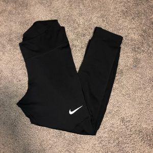 Nike dri-fit 3/4 length leggings